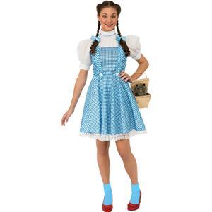 Wizard of Oz: Dorothy Adult Costume Standard Dress size 12