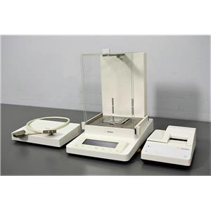 Used: Sartorius MSE225S-000-DA Balance Scale w/ Printer YDP10-0CE & Controller Hub