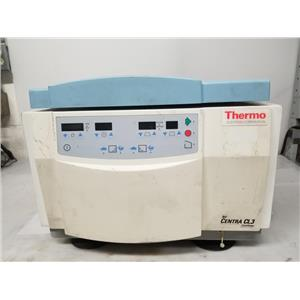 Thermo Centra CL3 Benchtop Centrifuge w/ Swinging Bucket Rotor