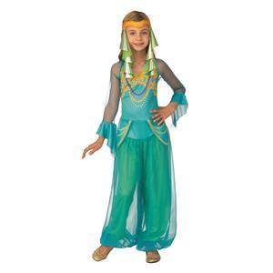 Arabian Dancer Girls Bollywood Gypsy Belly Dancer Costume Large 12-14