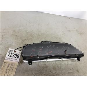 1999 2000 Ford F350 F250 diesel gauge cluster 4wd tag as72700