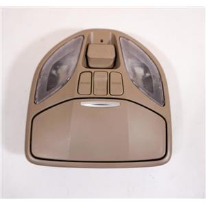 13-16 Hyundai Santa Fe Overhead Console Map Lights Sunroof Controls Door Switch