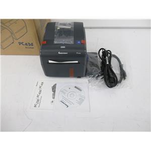 """Intermec PC43DA01100201 Direct Thermal Barcode Printer 4"""" - NEW, OPEN BOX"""