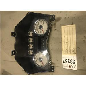 2008-2010 Ford F250 F350 Lariat gauge cluster tag as53337