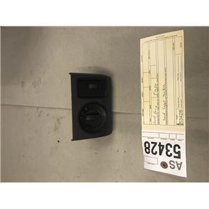 2008-2010 Ford F350 Powerstroke XLT dash bezel headlight switch tag as53428
