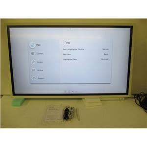 "Samsung WM55H Samsung Flip 55"" Digital Flipchart for Business with stand"