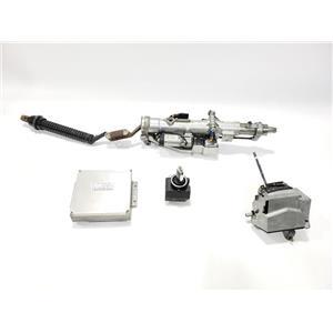 ECU DME ECM Shifter Ignition Column Kit 00 Mercedes S500 2204600416 0265456932