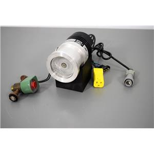 Leybold 85401 Turbo Vacuum Pump 50 w/Solenoid Valve and Power Outlet w/ Warranty
