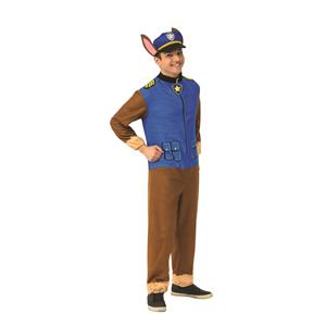Paw Patrol Chase Jumpsuit Adult Costume Size Standard
