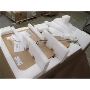 Mavig OT25B050-SI + OT90U010 Radiation Shield Leaded Glass Xray Room w/Springarm