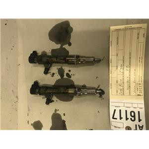 2008-2010 Ford F350 6.4L Powerstroke 2 injectors out of core motor tag at16117