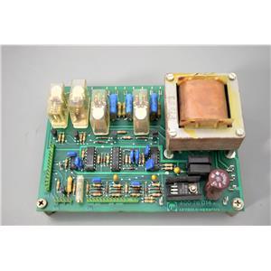 Leybold Ultratest 40076014a Power PCB Board for Helium Leak Detector w/Warranty