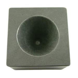 High Density Graphite Conical Mold- Assy Gold Silver Black Sand Cone