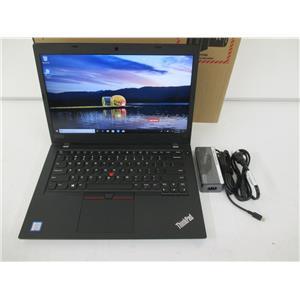 """Lenovo 20LTS7T800 ThinkPad L480 Core i5-8250U 16GB 256GB SSD 14"""" W10P w/WARRANTY"""