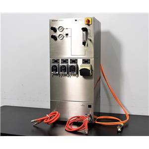 Used: Braun Biotech Sartorius BIOSTAT B-DCU Fermenter Bioreactor Cell Culture Tower