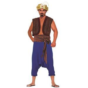 Desert Prince Aladdin Vest and Belt Costume Accessories