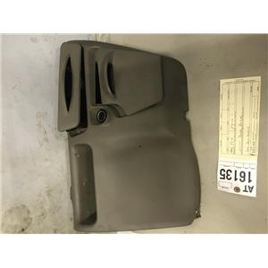 1999-2004 Ford F350 brown lower dash bezel and cup holder at16135