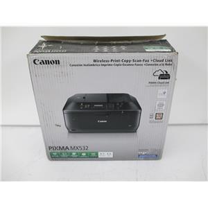 Canon 8750B002 PIXMA MX532 Wireless Office AIO Inkjet Printer - NEW, OPEN BOX