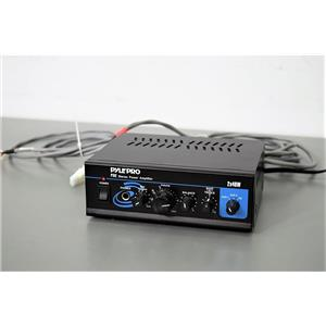 Pyle PylePro PTA2 Stereo Power Amplifier and Speaker Wire with 90-Day Warranty
