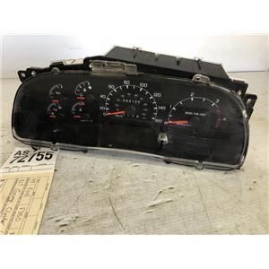 1999 2000 Ford F350 F250 diesel gauge cluster 4wd tag as72755