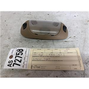 1999-2004 Ford F250/F350/F450/F550 tan dome light bezel as72758