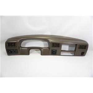 1999-2004 Ford F250 F350 Surround Dash Trim Bezel Vents 4WD 12V Light Switches