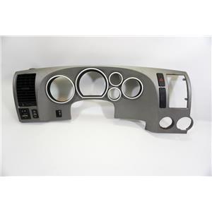 2007-2011 Toyota Tundra Gray Dash Speedometer Bezel Dimmer, Mirror and Hazard