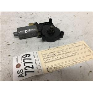 1998-2005 Mercedes ML320 drivers side front window motor as72779