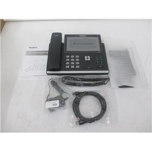 Yealink SIP-T48S Gigabit IP Phone w/ 7-inch Touch-Panel Screen - NEW, OPEN BOX