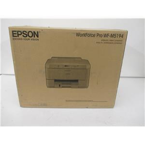 Epson C11CE38201-NA WorkForce Pro WF-M5194 Monochrome Inkjet Printer - NEW