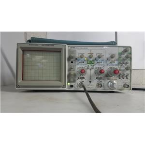 TEKTRONIX 2235 100MHZ 2 CHANNEL OSCILLOSCOPE FOR PARTS