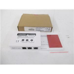 CYBERDATA 011187A 2-Port PoE Gigabit Switch - 2 x POE+