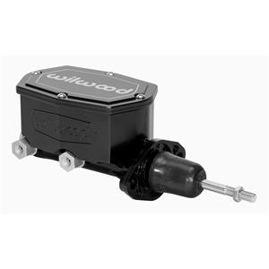 "Wilwood 7/8"" Compact Tandem Aluminum Master Cylinder Black 260-14957-BK"