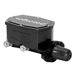 "Wilwood 1 - 1/8"" Compact Tandem Aluminum Master Cylinder Black 260-14960-BK"