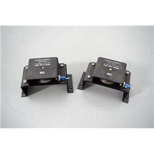 Used: Right and Left Door Pulleys P/N 0228-252-1 for Molecular Dynamics MSpot3 Array