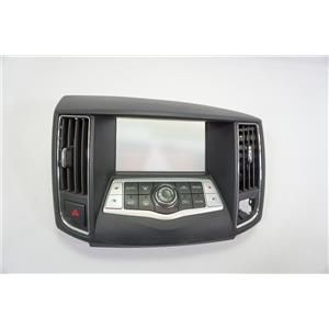 09-14 Nissan Maxima Center Dash Radio Climate Bezel Vents Auto Climate