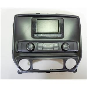 14-16 Chevrolet Silverado Sierra Center Dash Radio Climate Bezel 4 inch Display