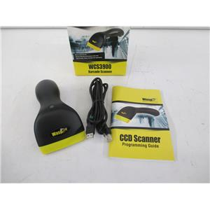 Wasp 633808091040 WCS3900 CCD Barcode Scanner w/ USB Cord