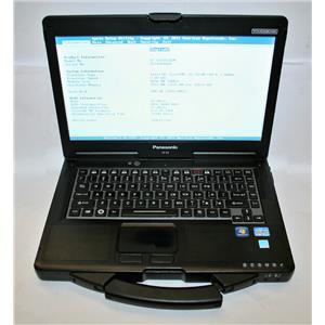 "Panasonic ToughBook 14"" MK2 CF-53 Core i5 3rd 2.6Ghz 8GB 500GB GPS BT Touch <8k!"