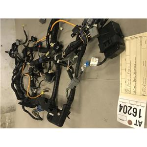 2008-2010 Ford F350 Powerstroke Lariat diesel dash wiring harness tag at16204