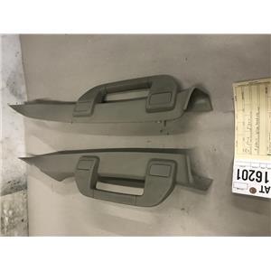 2008-2010 Ford F350 windshield 'stone' pillars grab handles  at16201