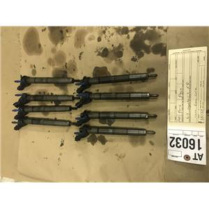 2011-2014 Ford F350 6.7L Powerstroke 8 injectors at16032