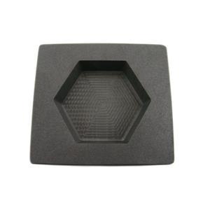 15 oz Gold 10 oz Silver Bar High Denisty Graphite Hexagon Mold Loaf Copper
