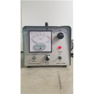 ELECTRO CRAFT MOTOMATIC MODEL E-650M SPEED CONTROL UNIT