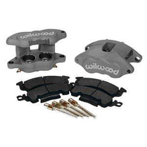 Wilwood D52 2.00/1.00 Front Caliper Kit Anodized 140-11291 Pair w/ Pads