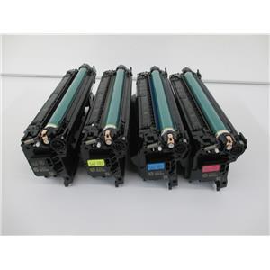 HP Genuine 655A Toner set CF450A CF451A CF452A CF453A for M652 M653 M681 M682
