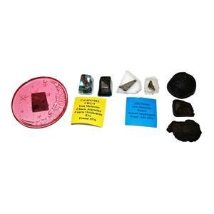 Lot of 8 Various Meteorite Samples Great for Teachers #14703 8o