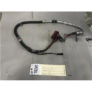 2008-2010 Ford F350 6.4L powerstroke battery wiring harness at16241