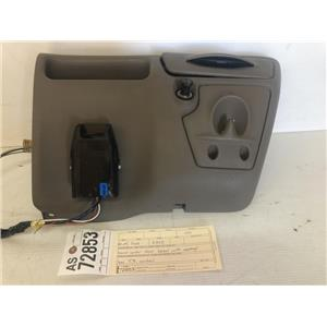 1999-2004 Ford F350 brown lower dash bezel and cup holder as72853