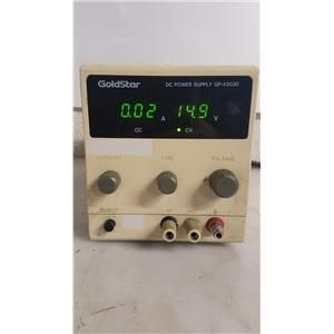 GOLDSTAR GP-4303D DIGITAL DC POWER SUPPLY 30V